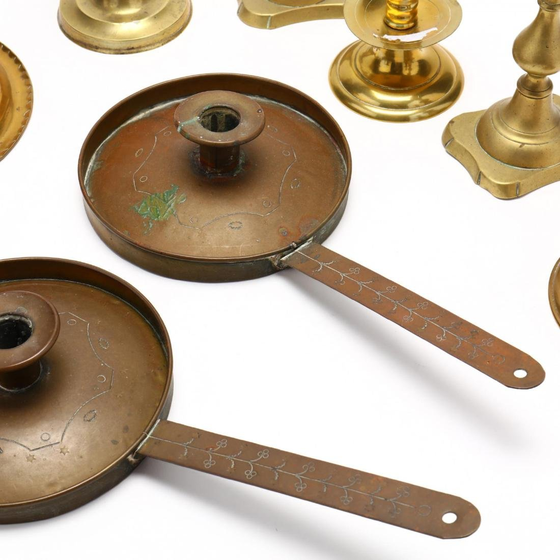 Nine Brass Candlesticks - 3
