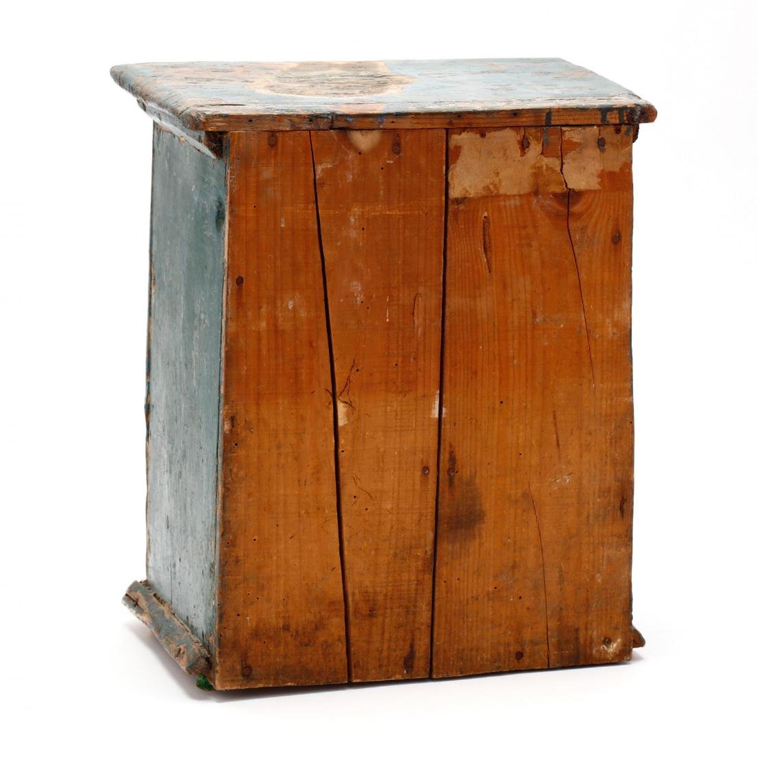 Antique Continental Painted Spice Cabinet - 4