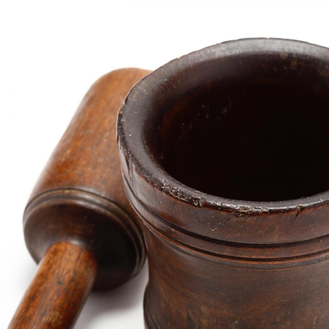 Antique Mortar and Pestle - 4