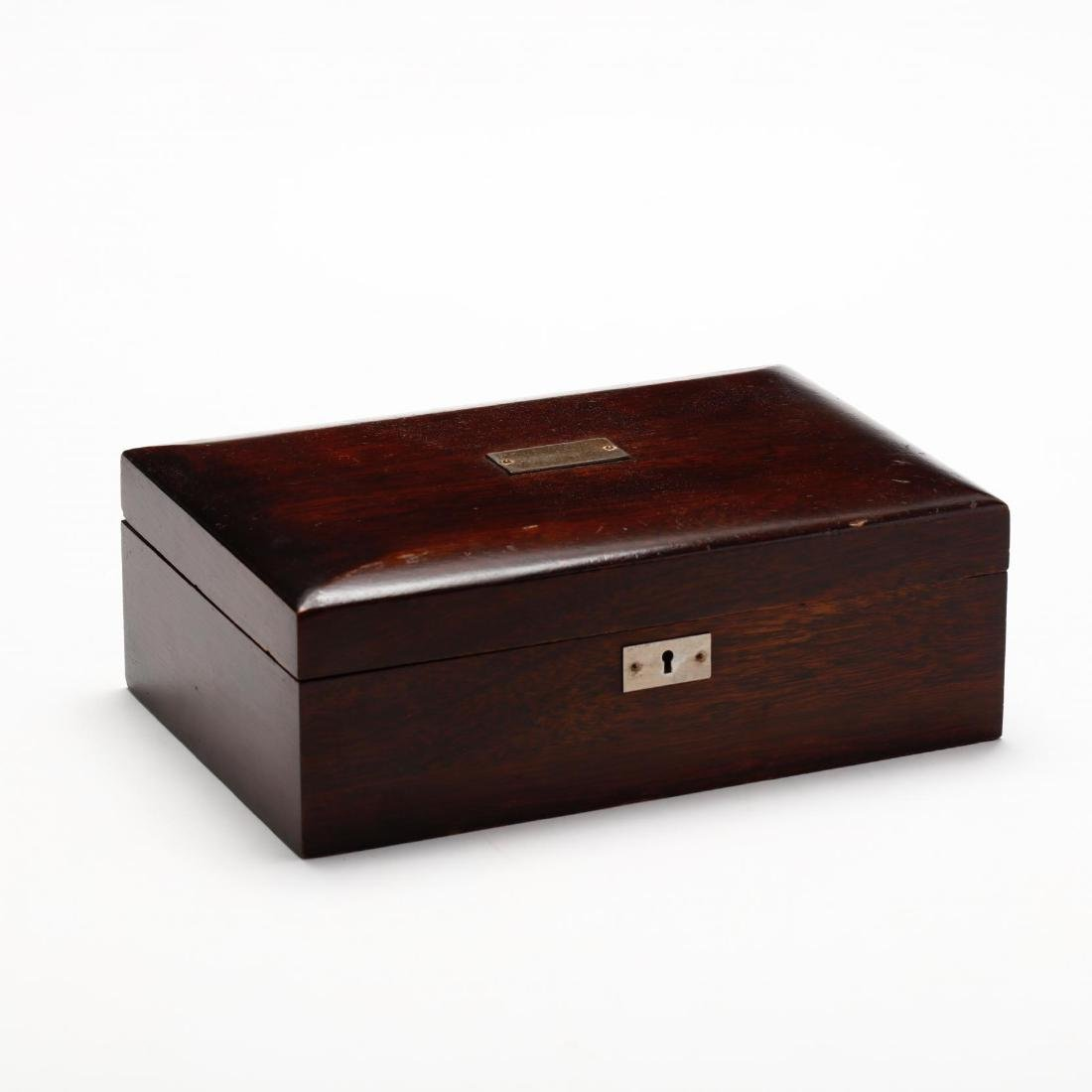 Vintage Mahogany Humidor - 2