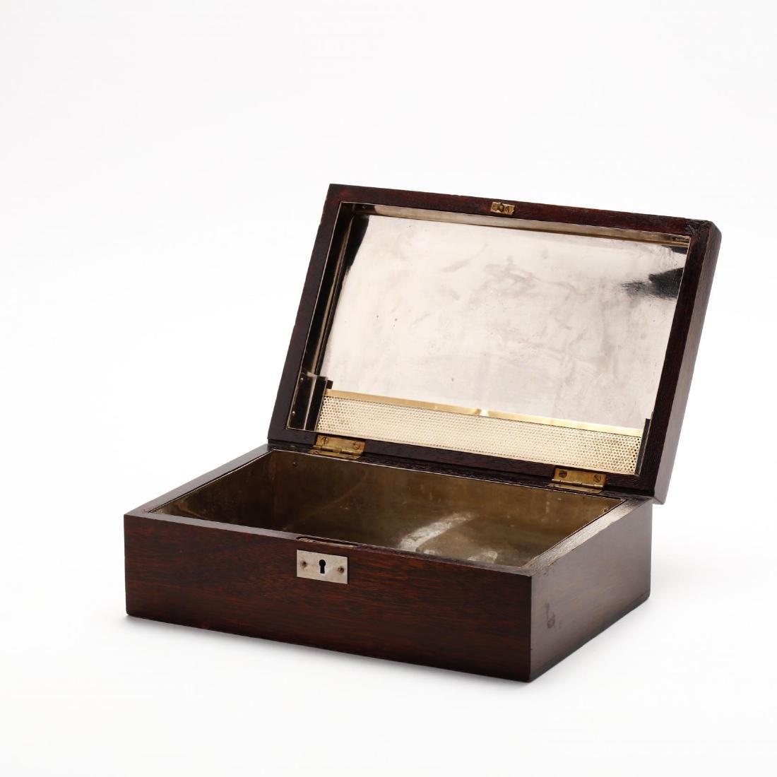 Vintage Mahogany Humidor - 3
