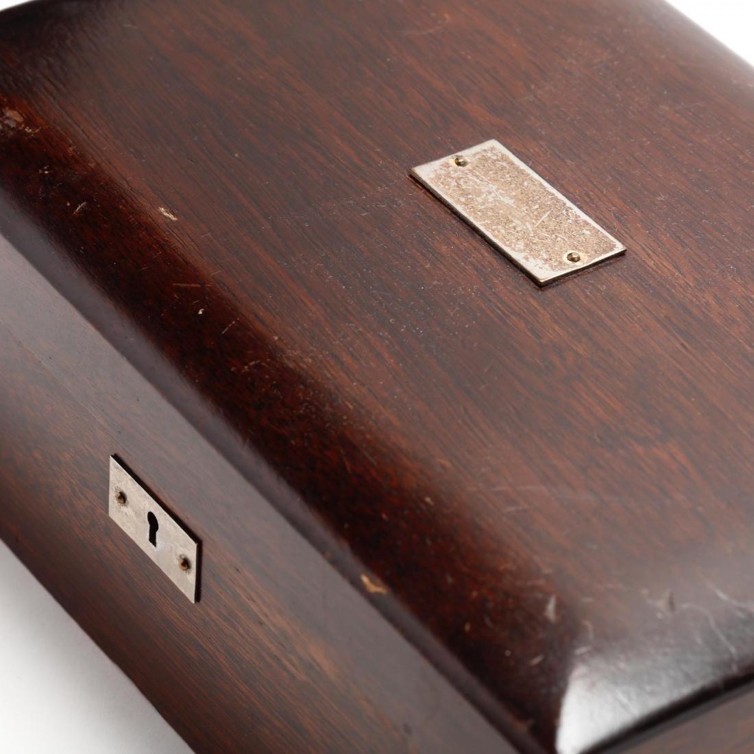 Vintage Mahogany Humidor - 5