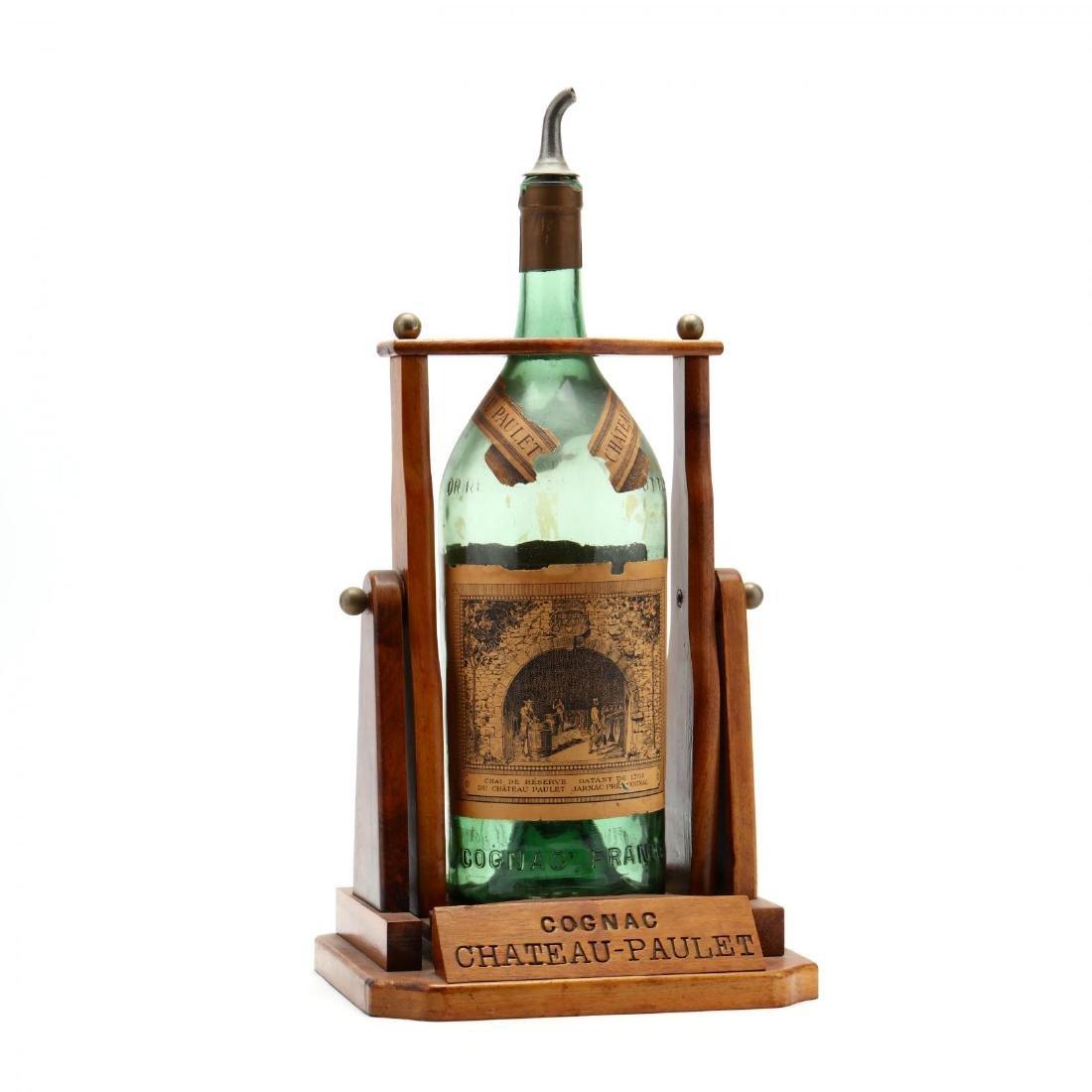 Vintage Cognac Bottle and Dispenser