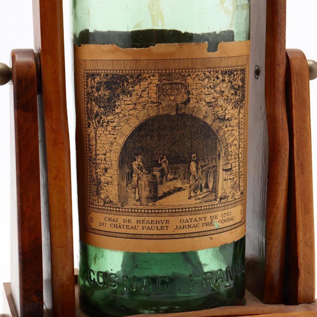 Vintage Cognac Bottle and Dispenser - 2