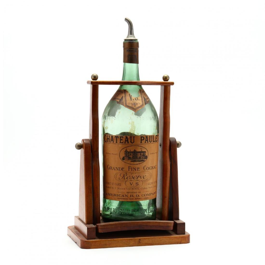 Vintage Cognac Bottle and Dispenser - 3