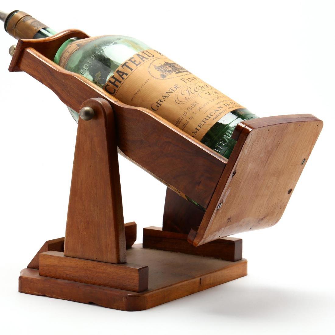 Vintage Cognac Bottle and Dispenser - 4