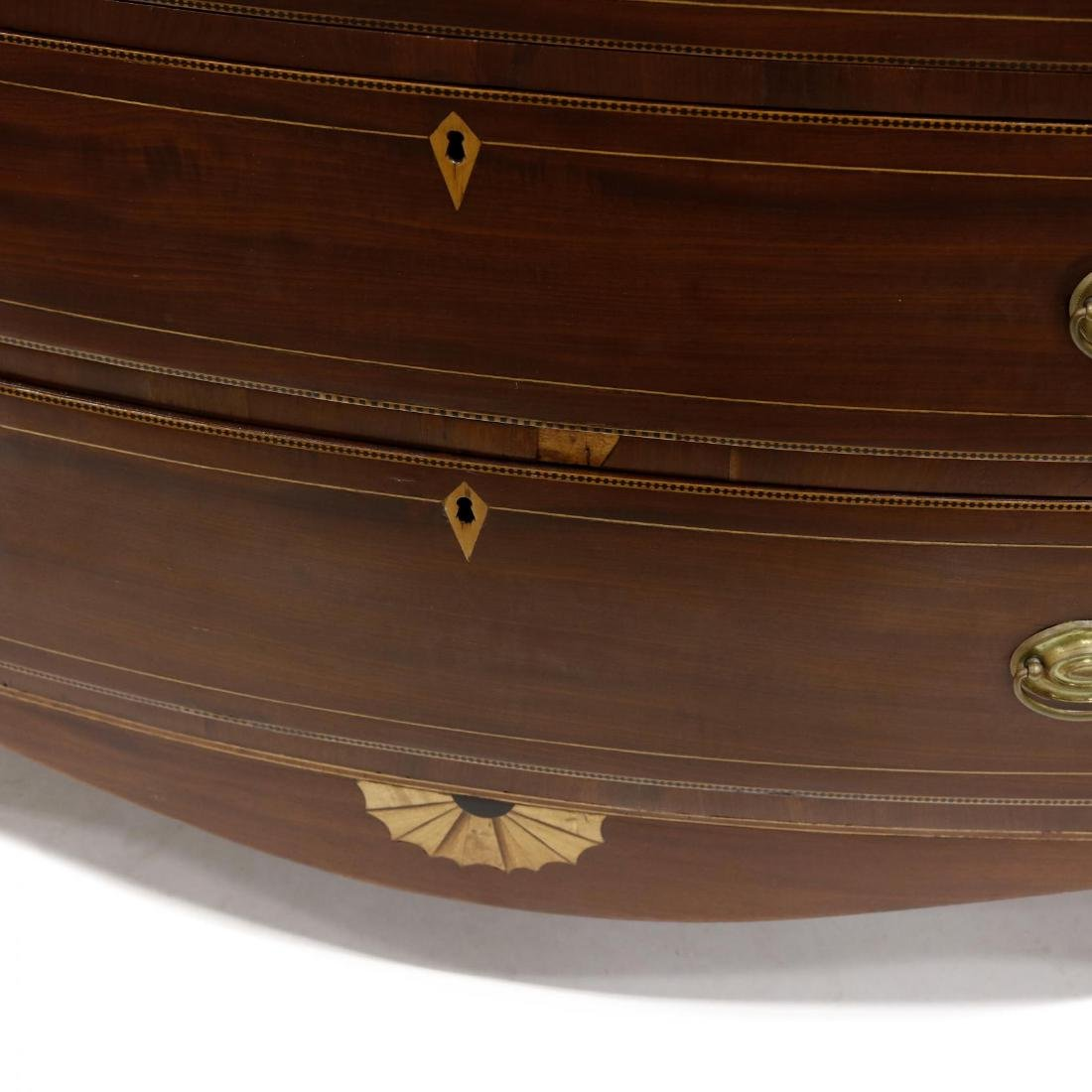 American Federal Inlaid Chest of Drawers - 3