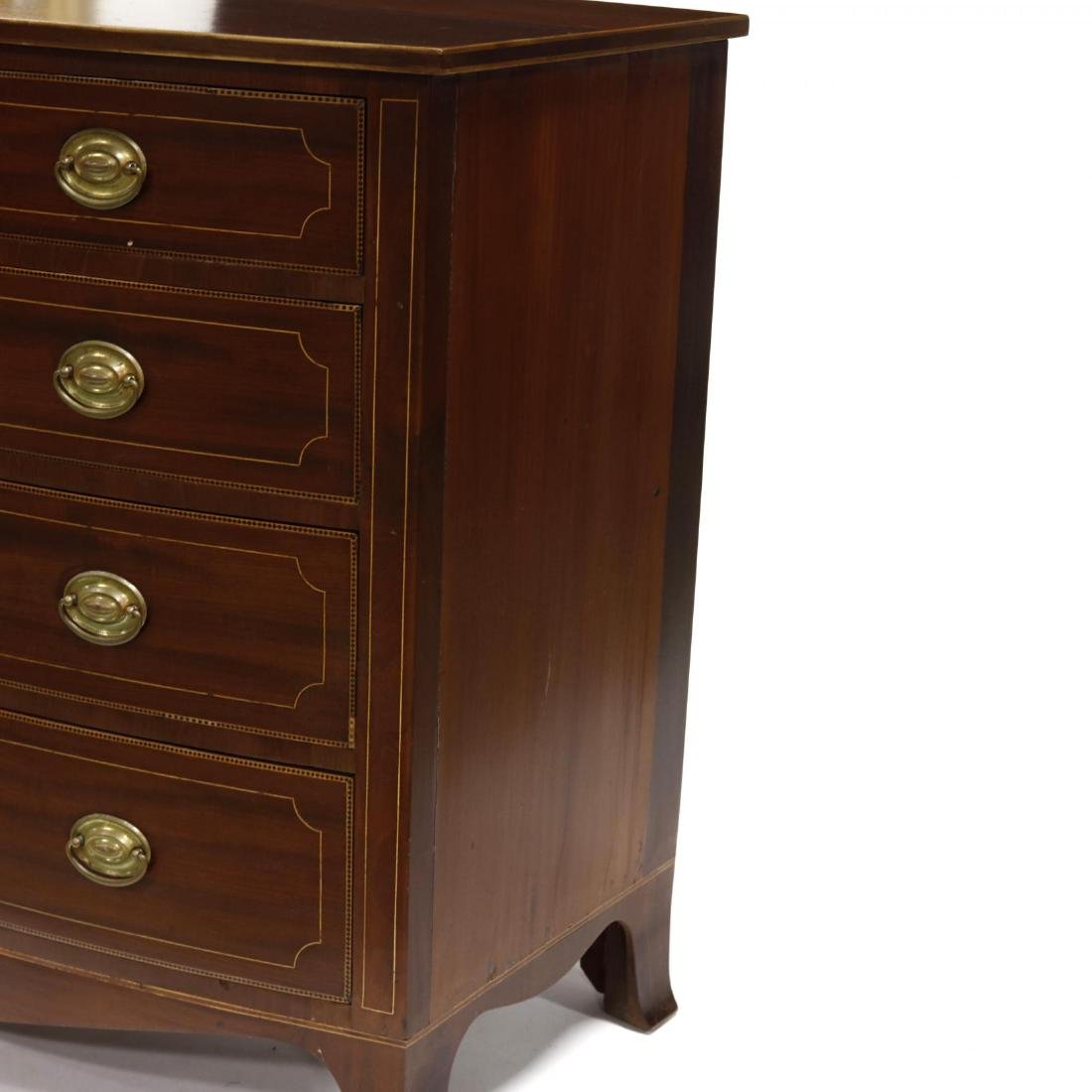American Federal Inlaid Chest of Drawers - 4