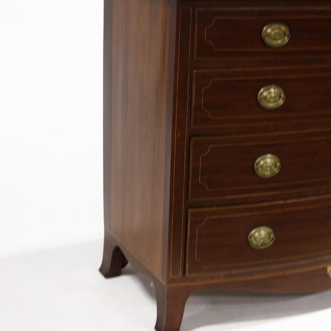 American Federal Inlaid Chest of Drawers - 5