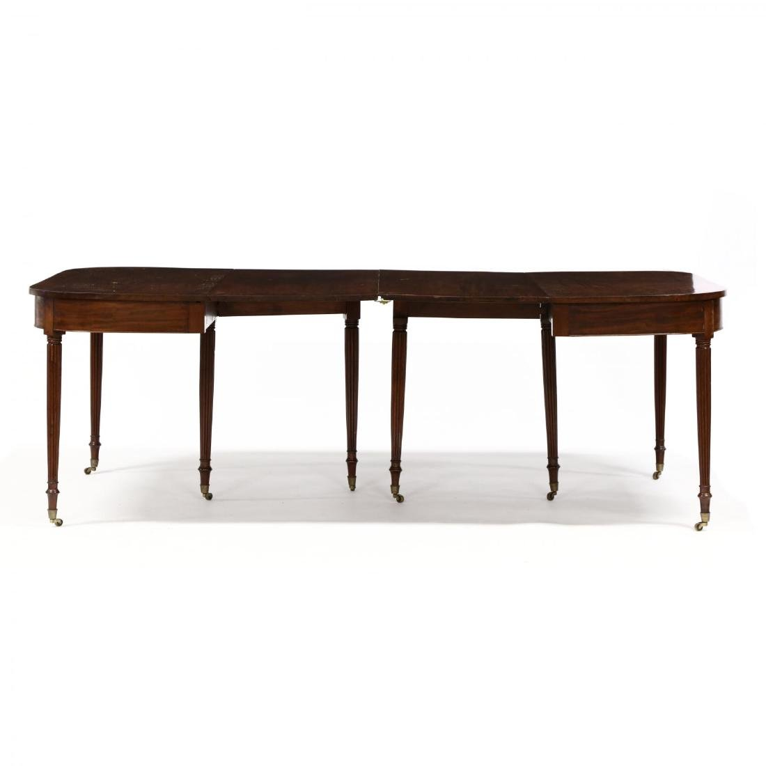 American Federal Mahogany Dining Table