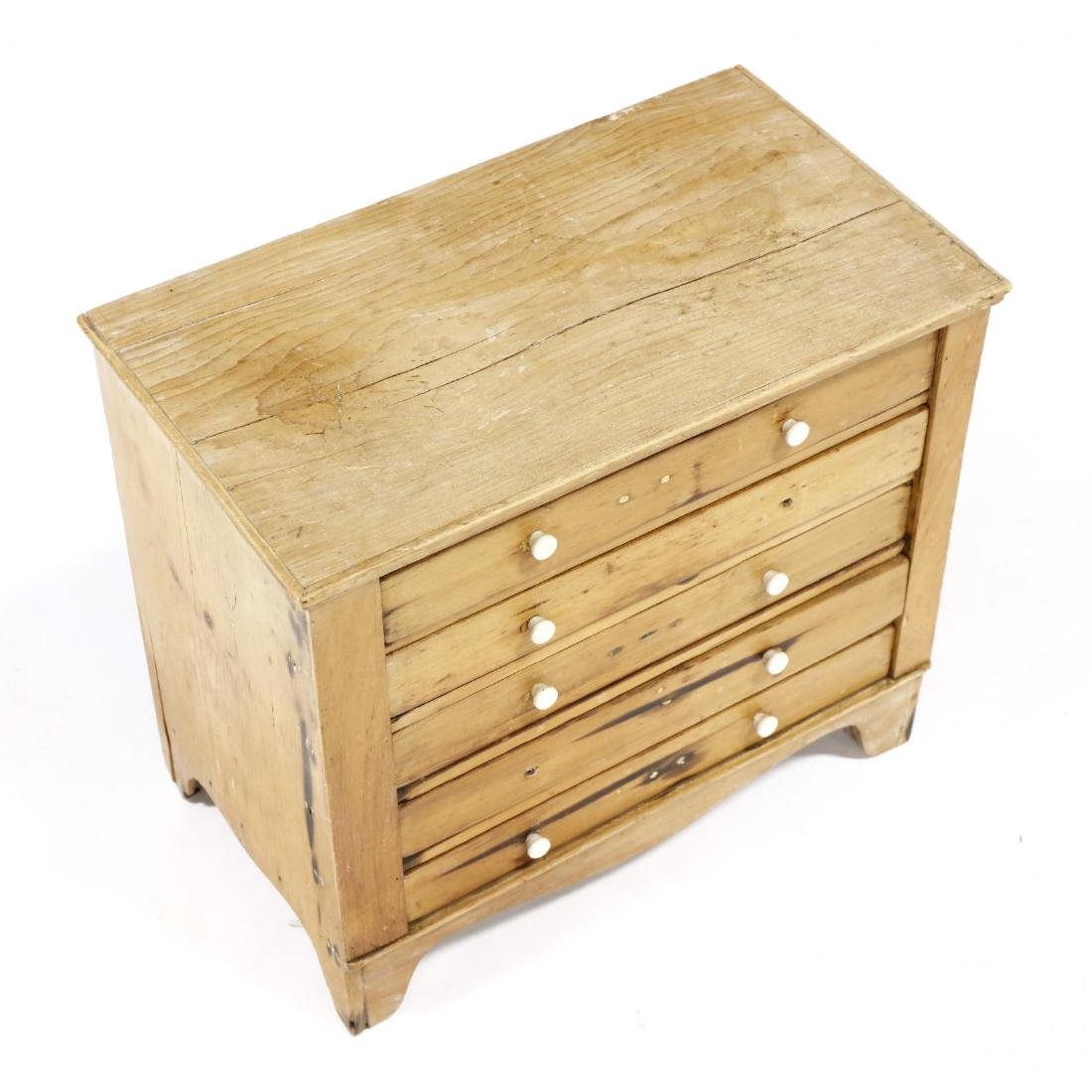 American Country Federal Miniature Chest of Drawers - 2