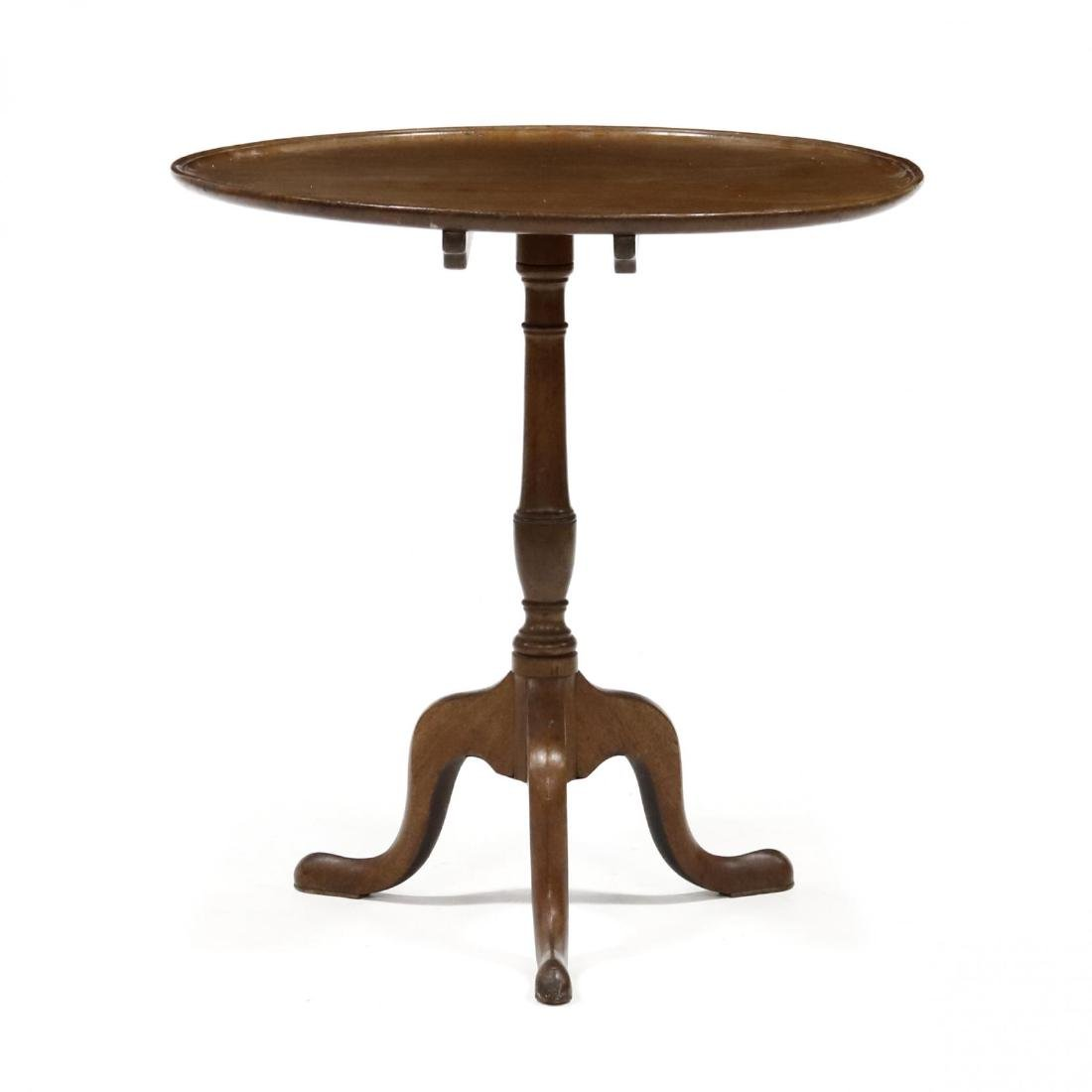 Federal Tilt Top Tea Table