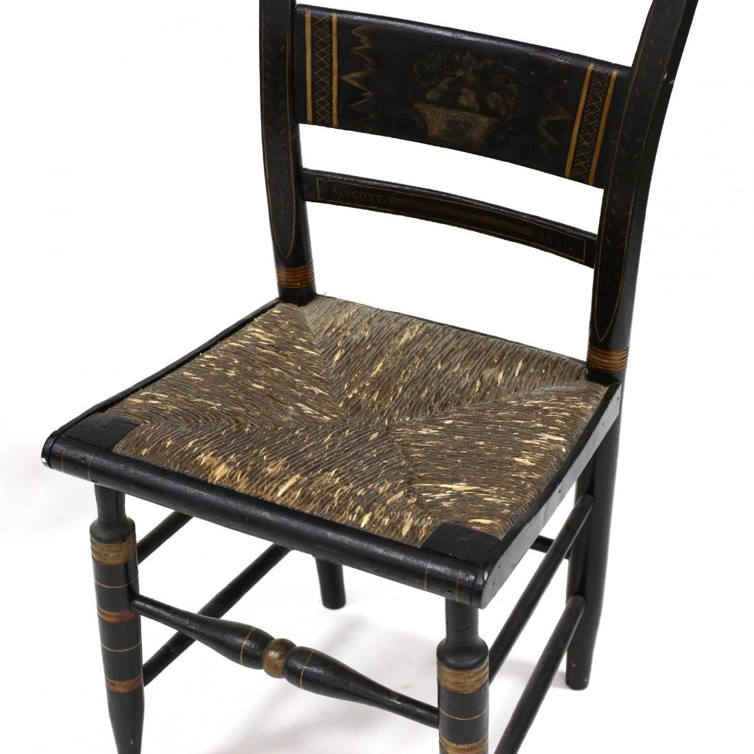 Two Antique Hitchcock Chairs - 2