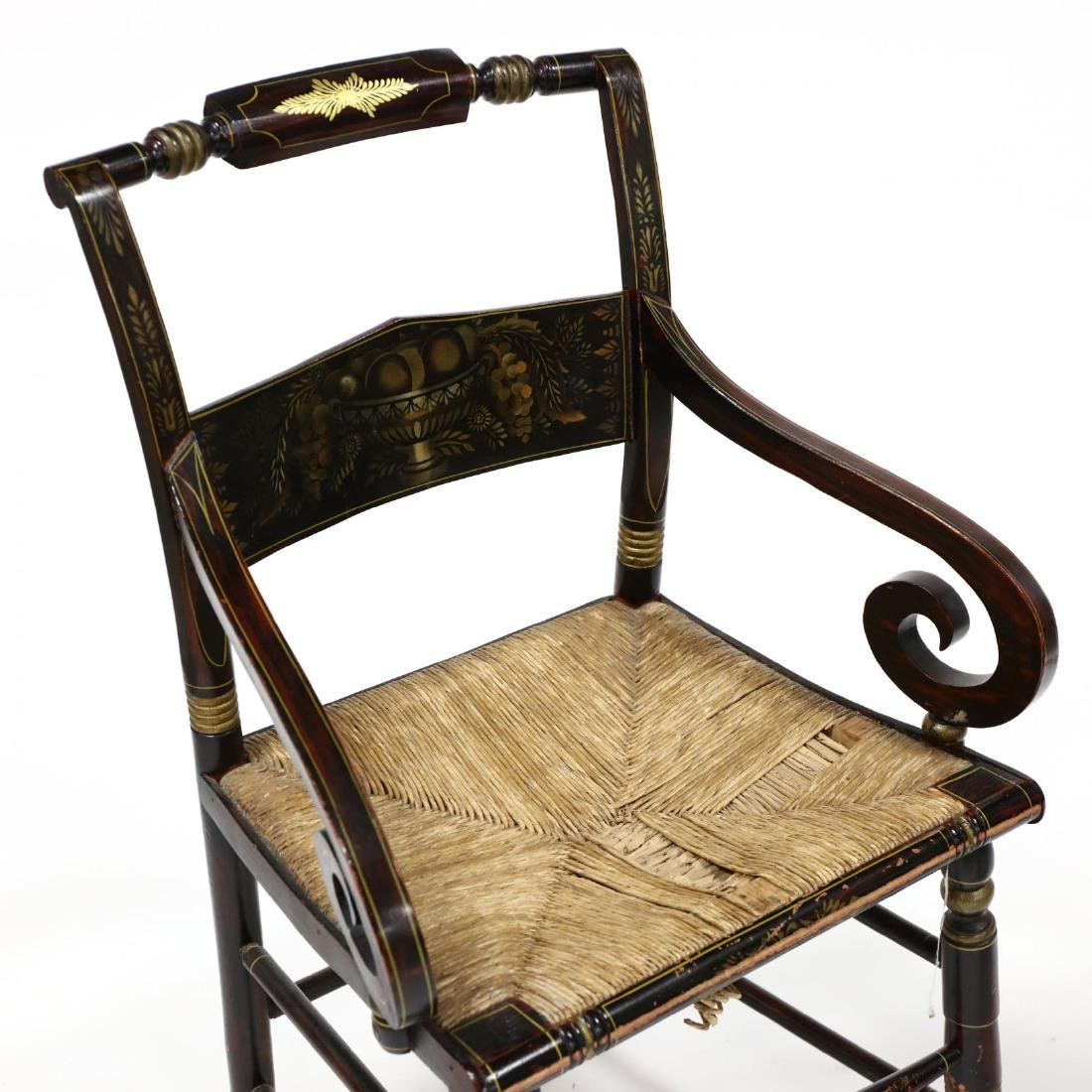 Two Antique Hitchcock Chairs - 3