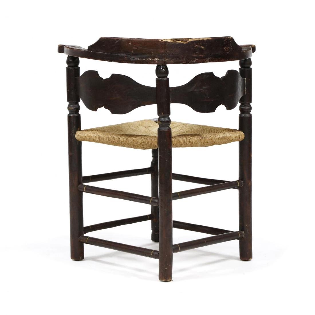 Antique Hitchcock Corner Chair - 3
