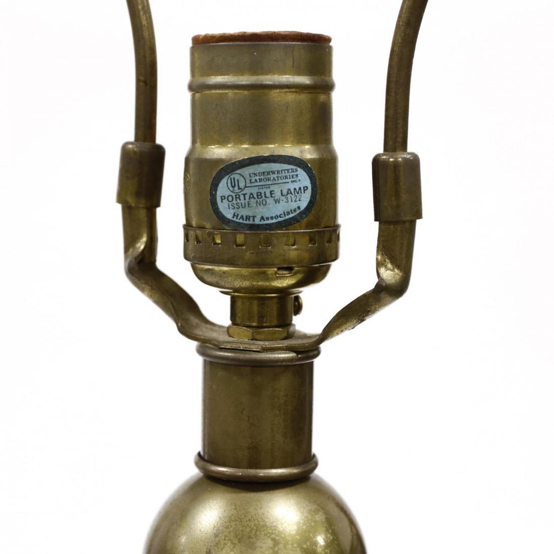 Hart Associates, Wood and Brass Floor Lamp - 3