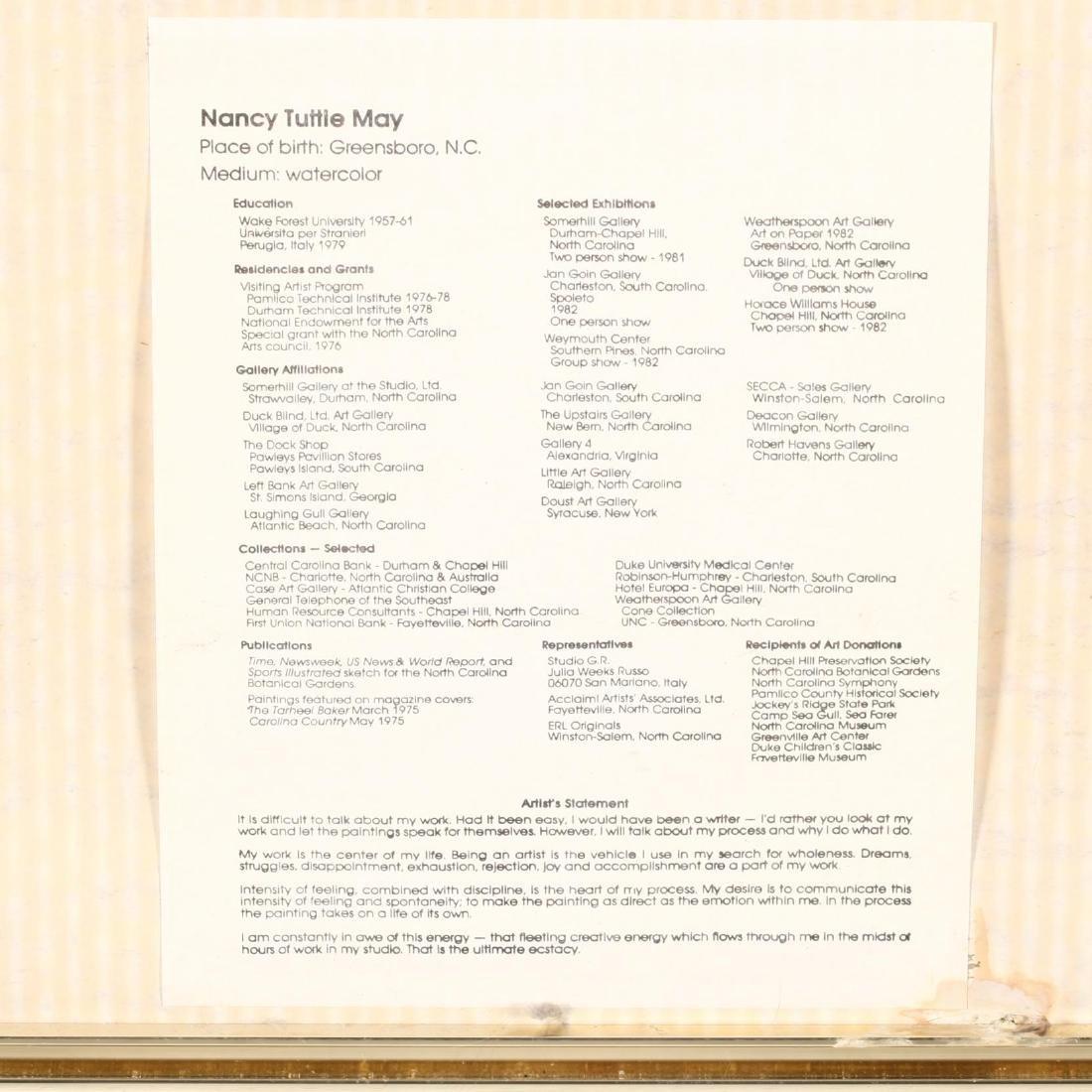 Nancy Tuttle May (NC),  Early Flight - 3