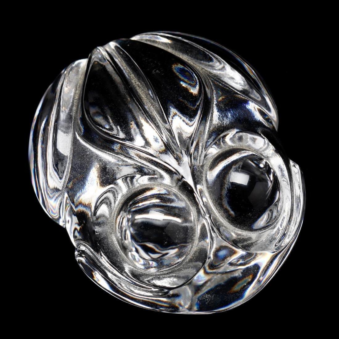 Steuben Crystal Frog Hand Cooler - 3