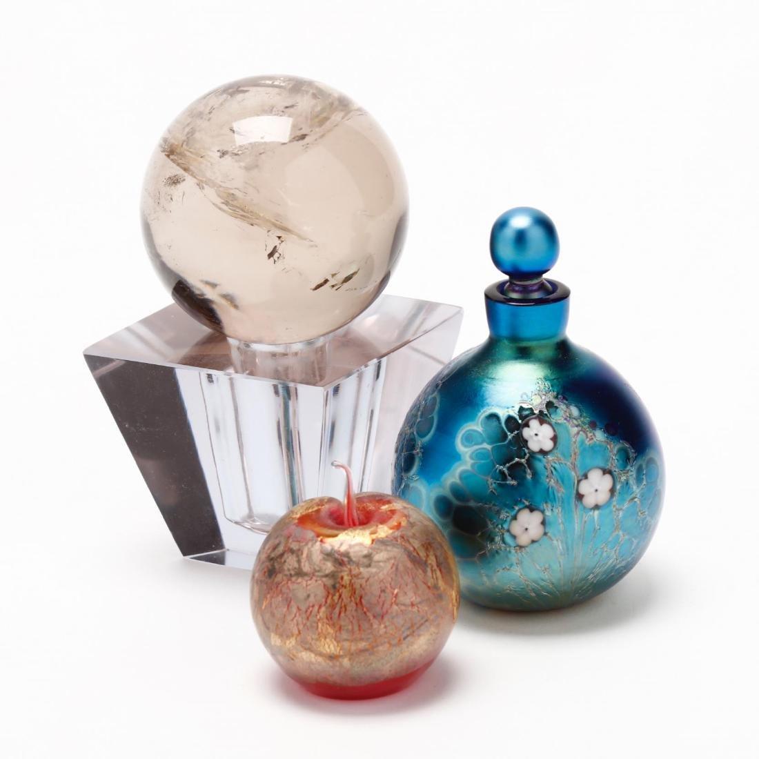 Three Art Glass Objects - 2