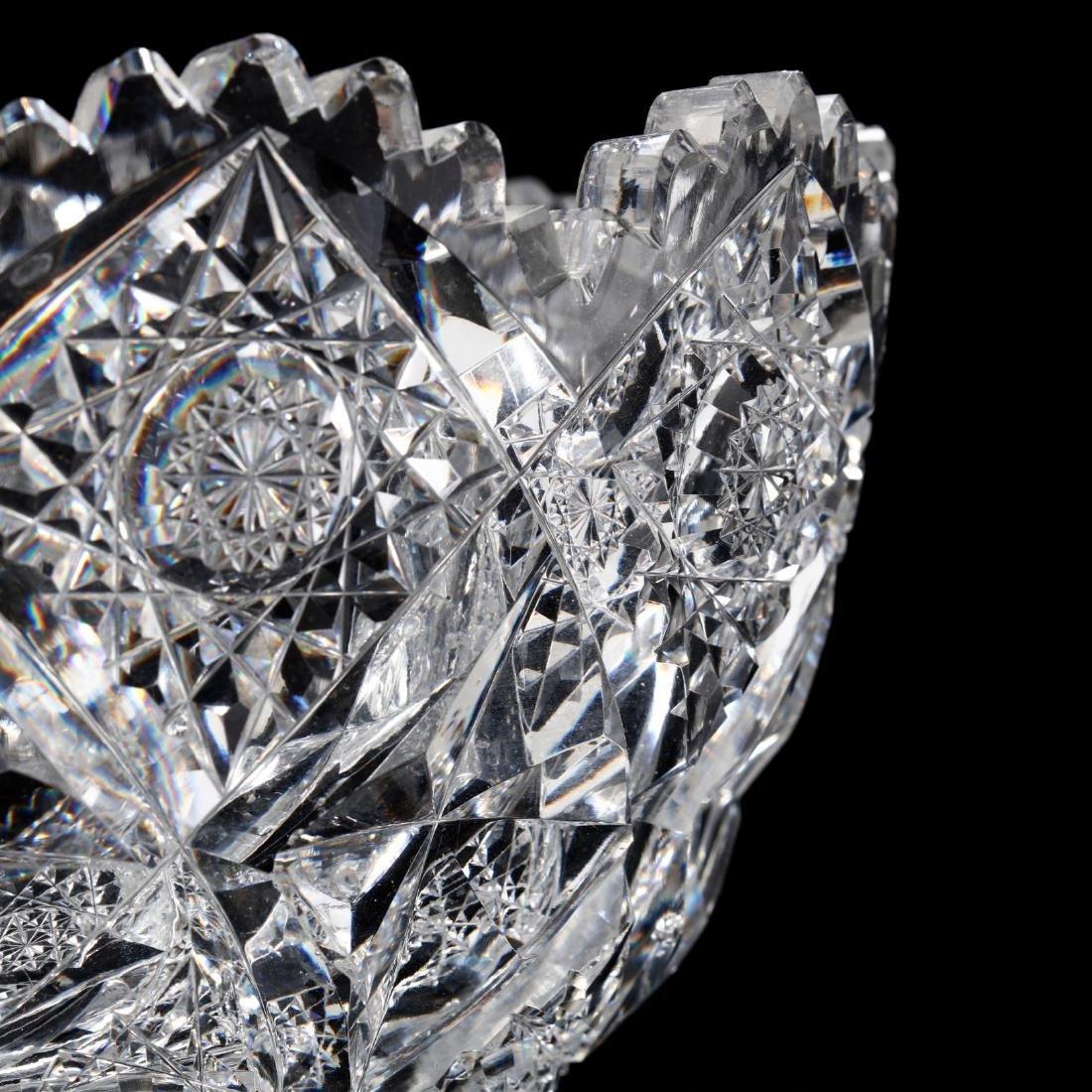 Hawkes, American Brilliant Period Cut Glass Bowl - 4