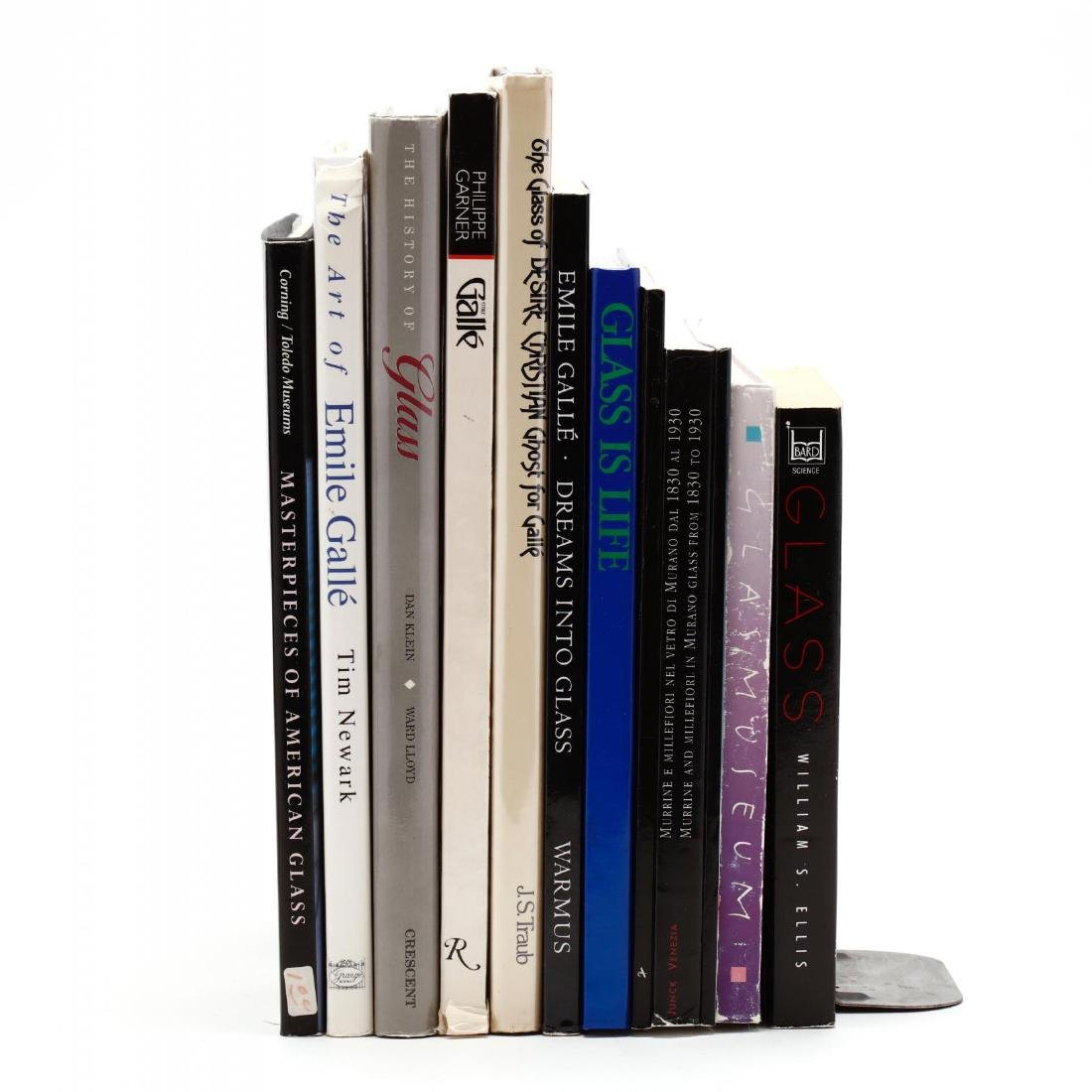 Twelve Titles on Art Glass
