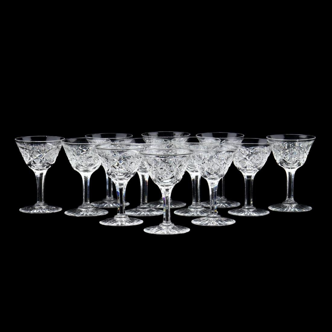 Vintage Glass Epergne and Coupes - 3