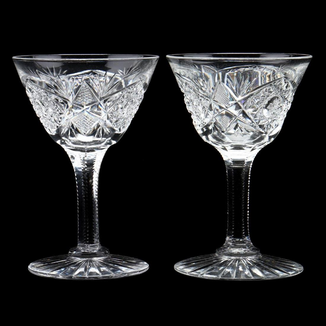 Vintage Glass Epergne and Coupes - 4