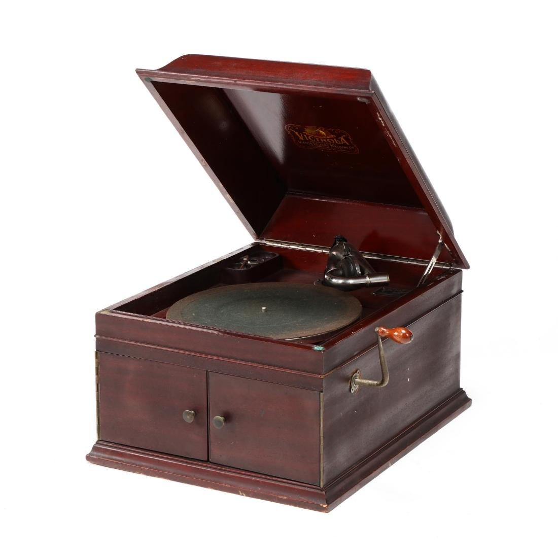 Victor Table Top Victrola Record Player