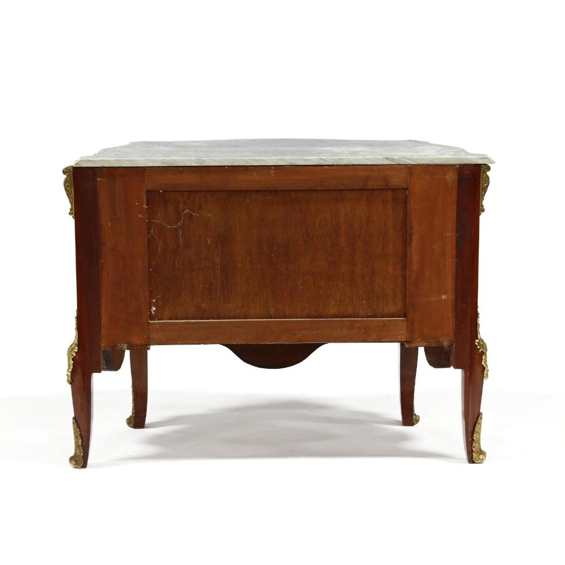 Louis XV Style Marble Top Commode - 5