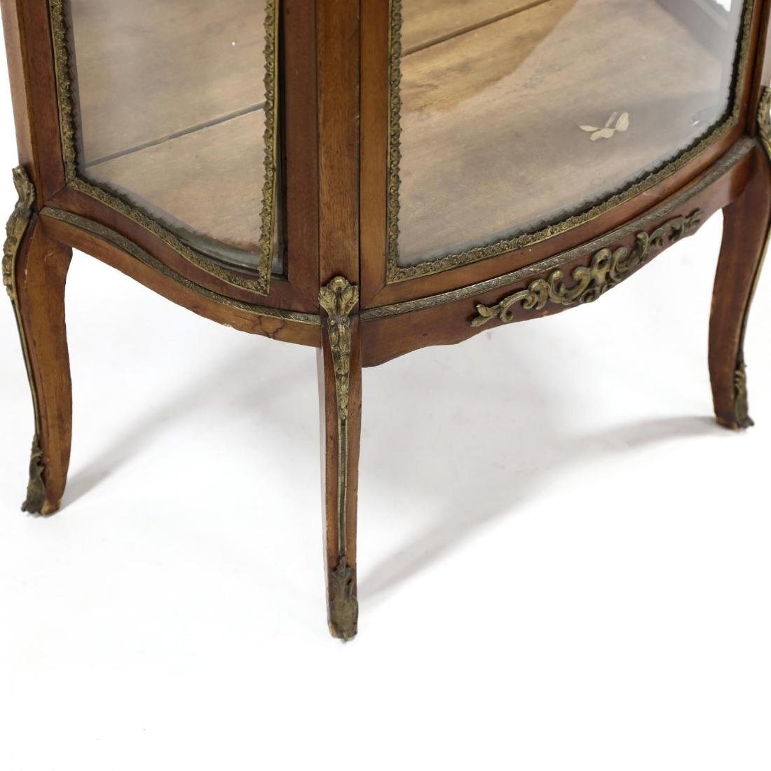 French Empire Style Marble Top Vitrine - 4