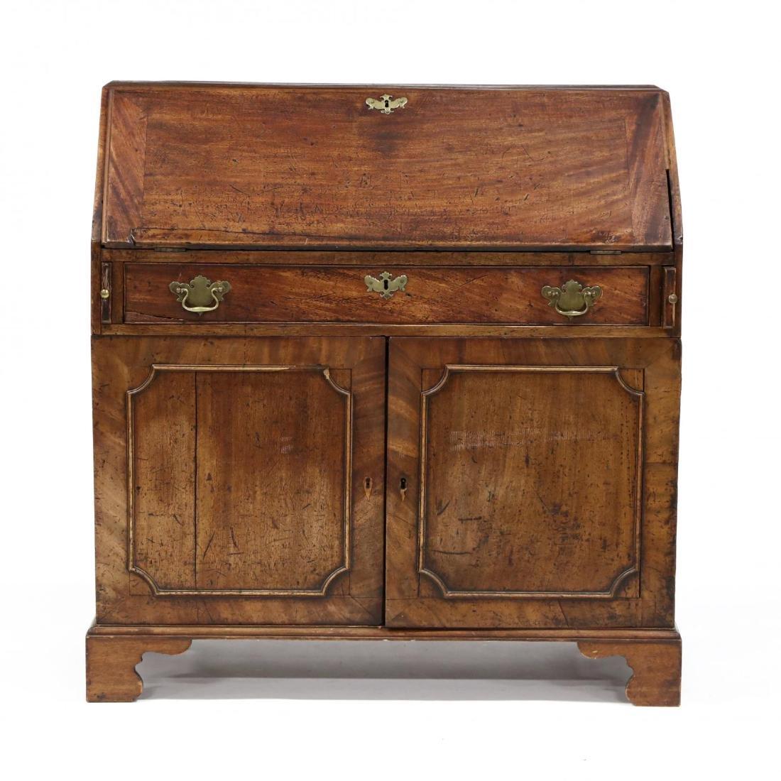 Continental Antique Slant Front Desk
