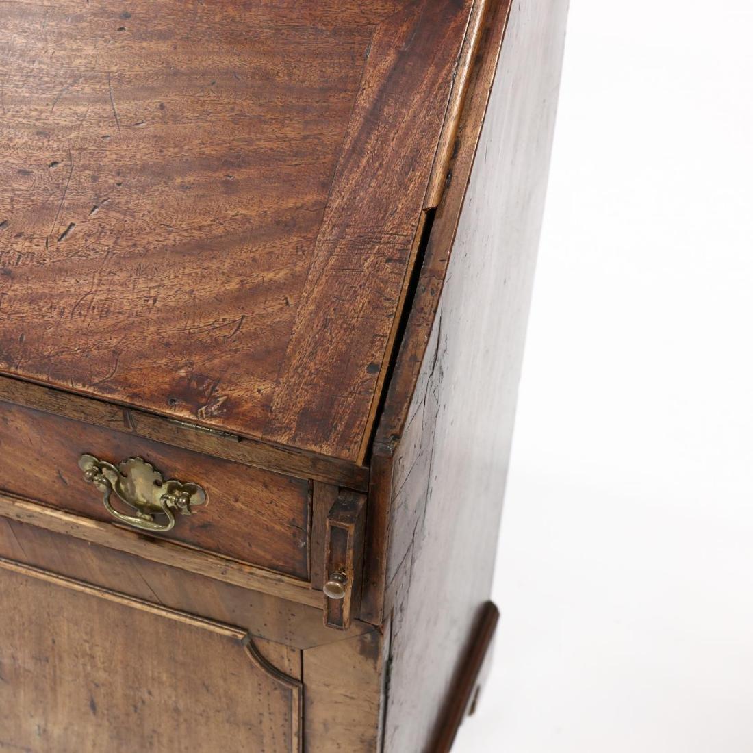 Continental Antique Slant Front Desk - 3