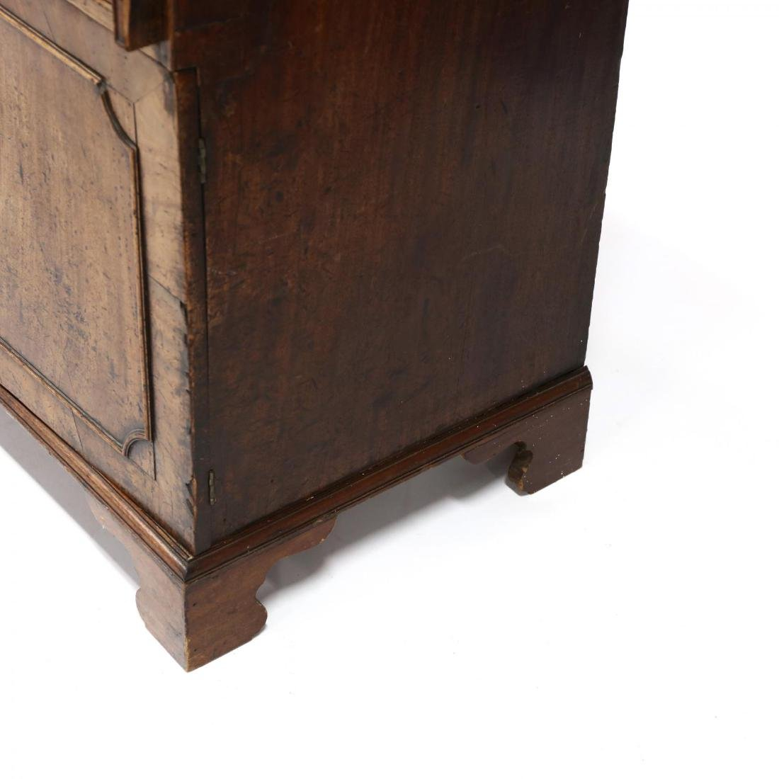 Continental Antique Slant Front Desk - 4