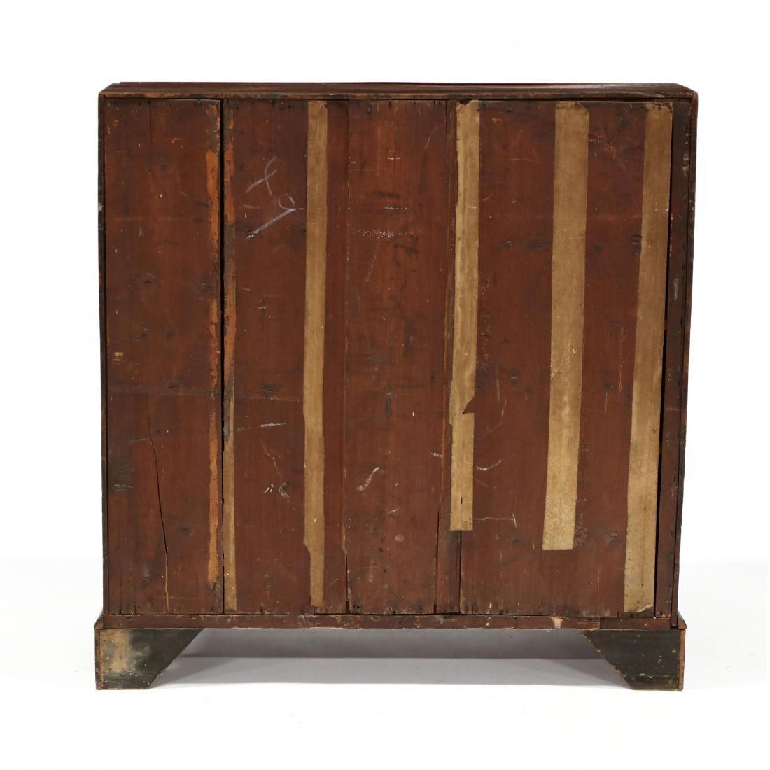 Continental Antique Slant Front Desk - 5