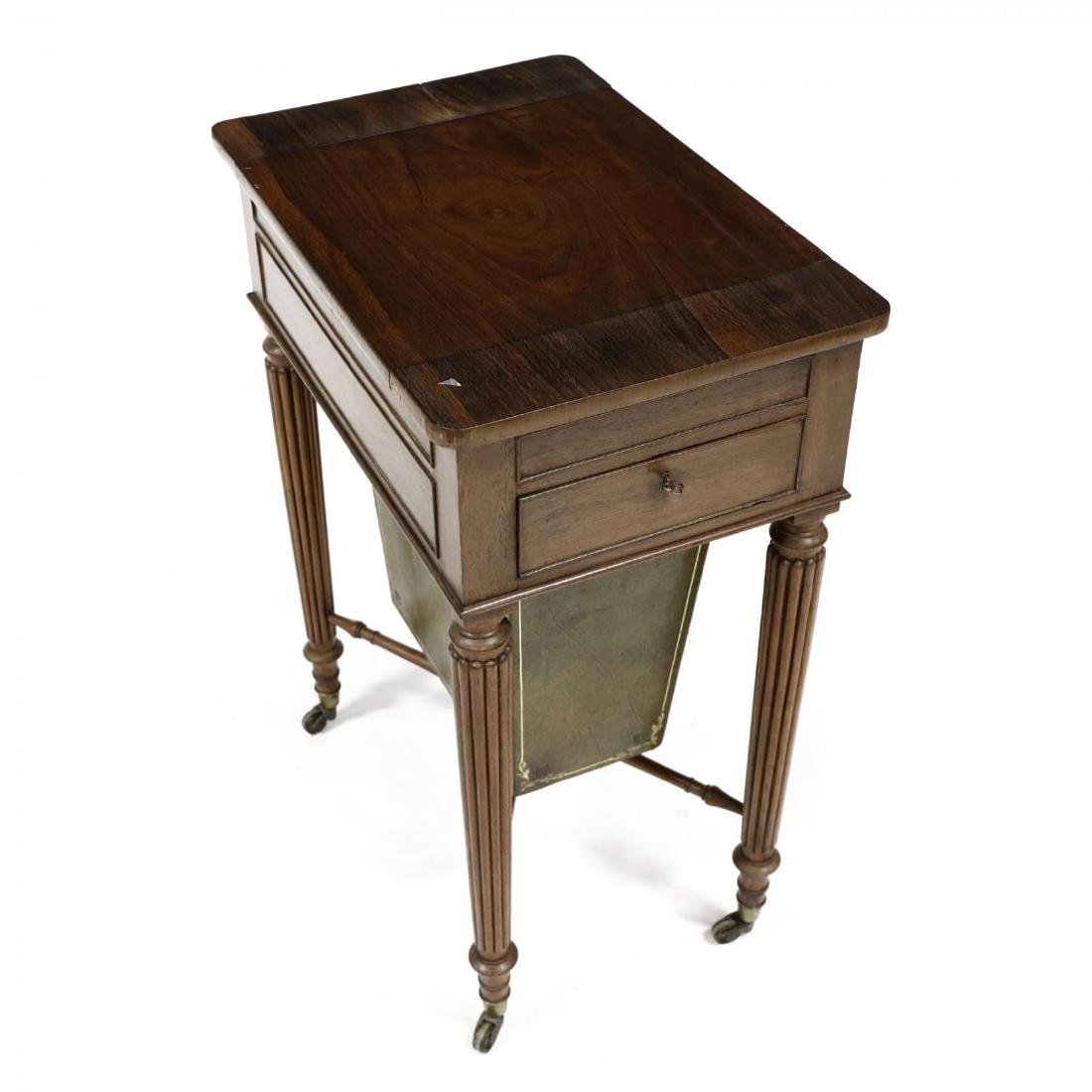 William IV Rosewood Games Table - 2