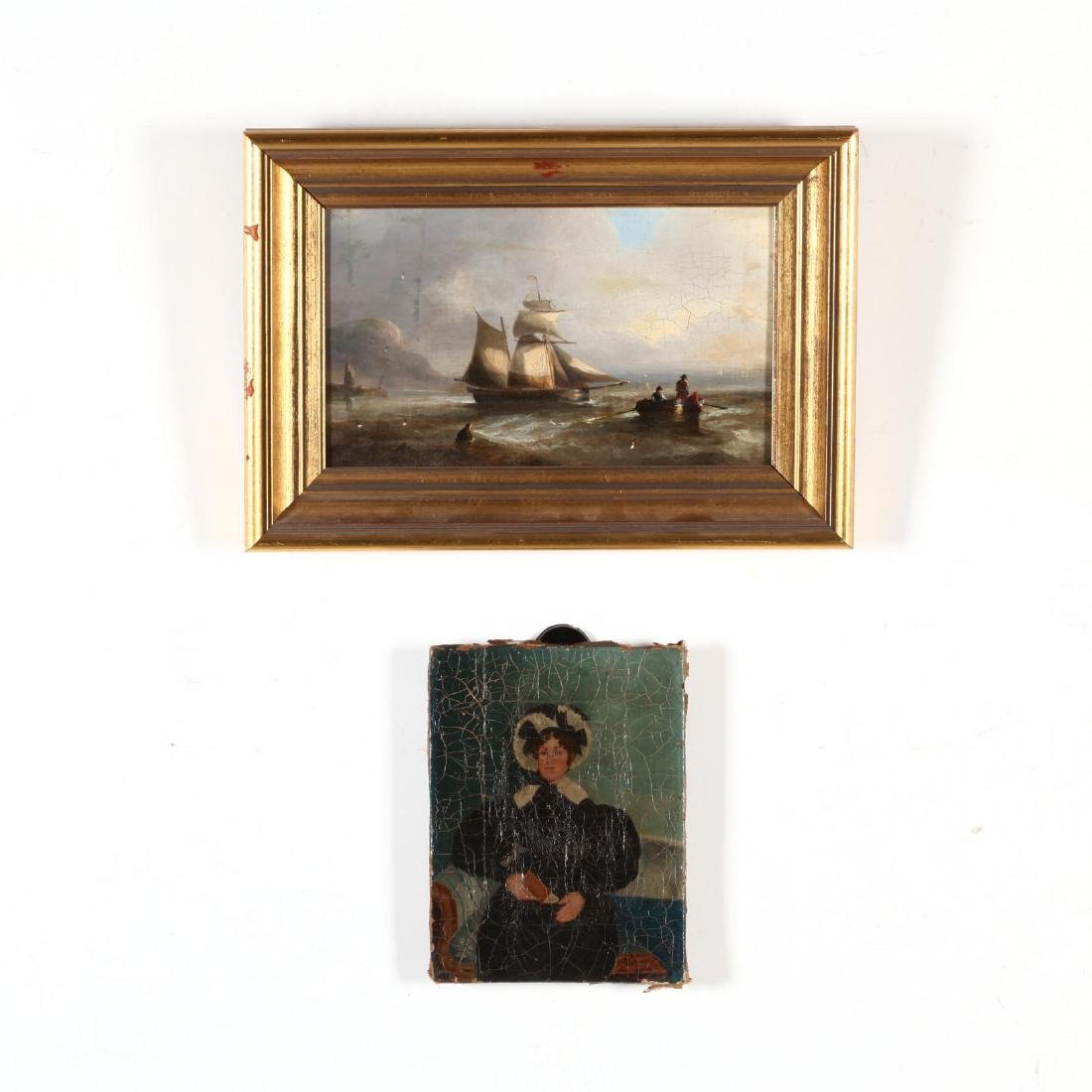 Two 19th Century English School Paintings