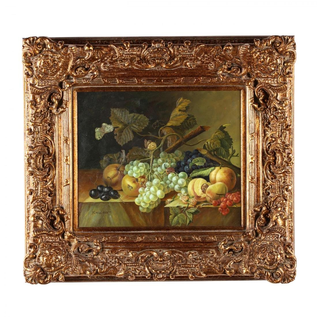 A Contemporary Decorative Still Life Painting