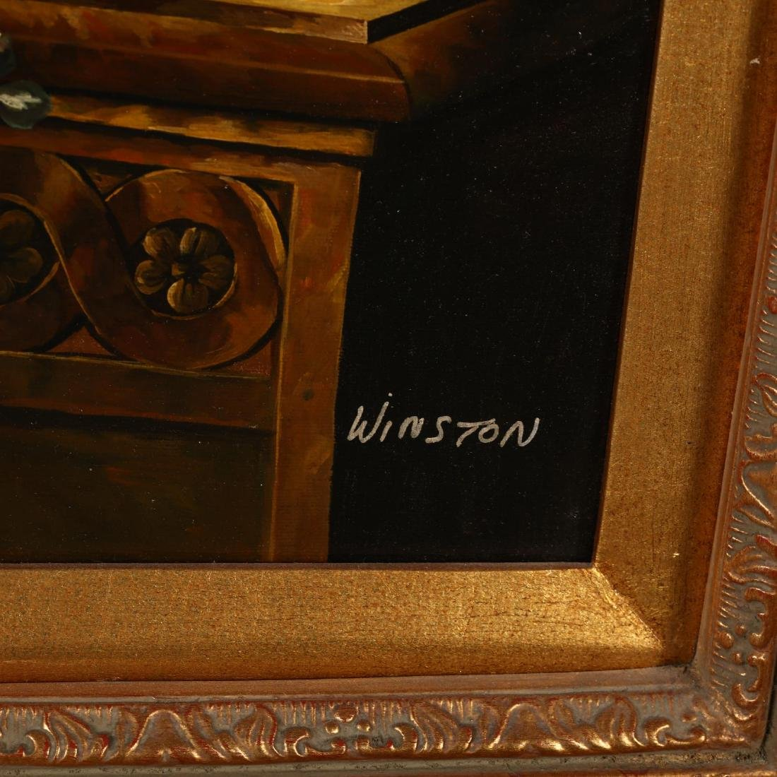 A Contemporary Decorative Still Life Painting - 2