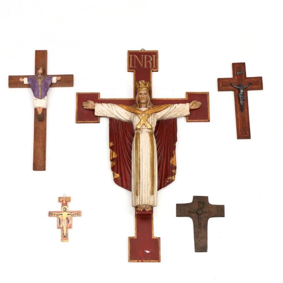 Five Crucifix