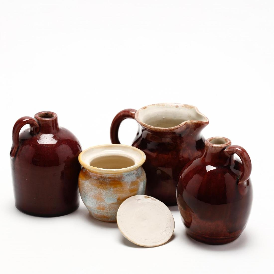 24 Pieces of Pisgah Forest Utilitarian Pottery - 8