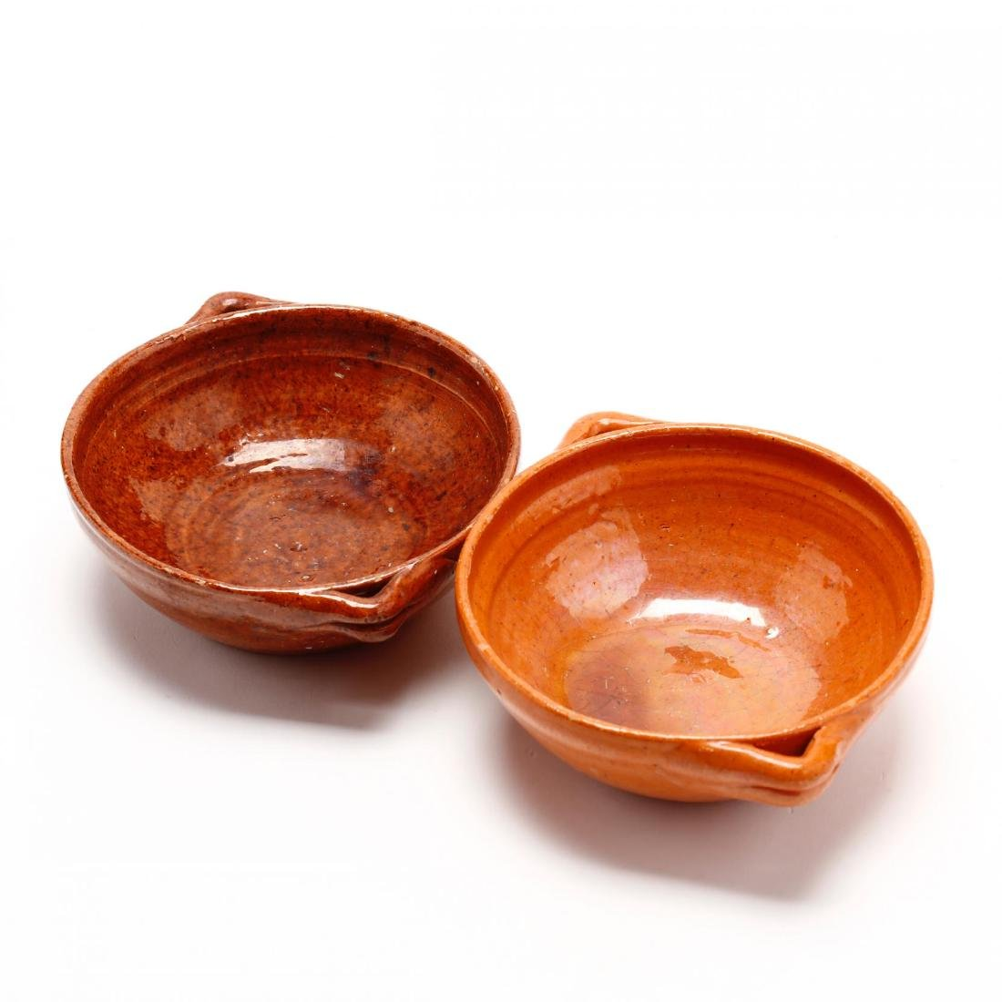 Two NC Jugtown Pottery Bowls