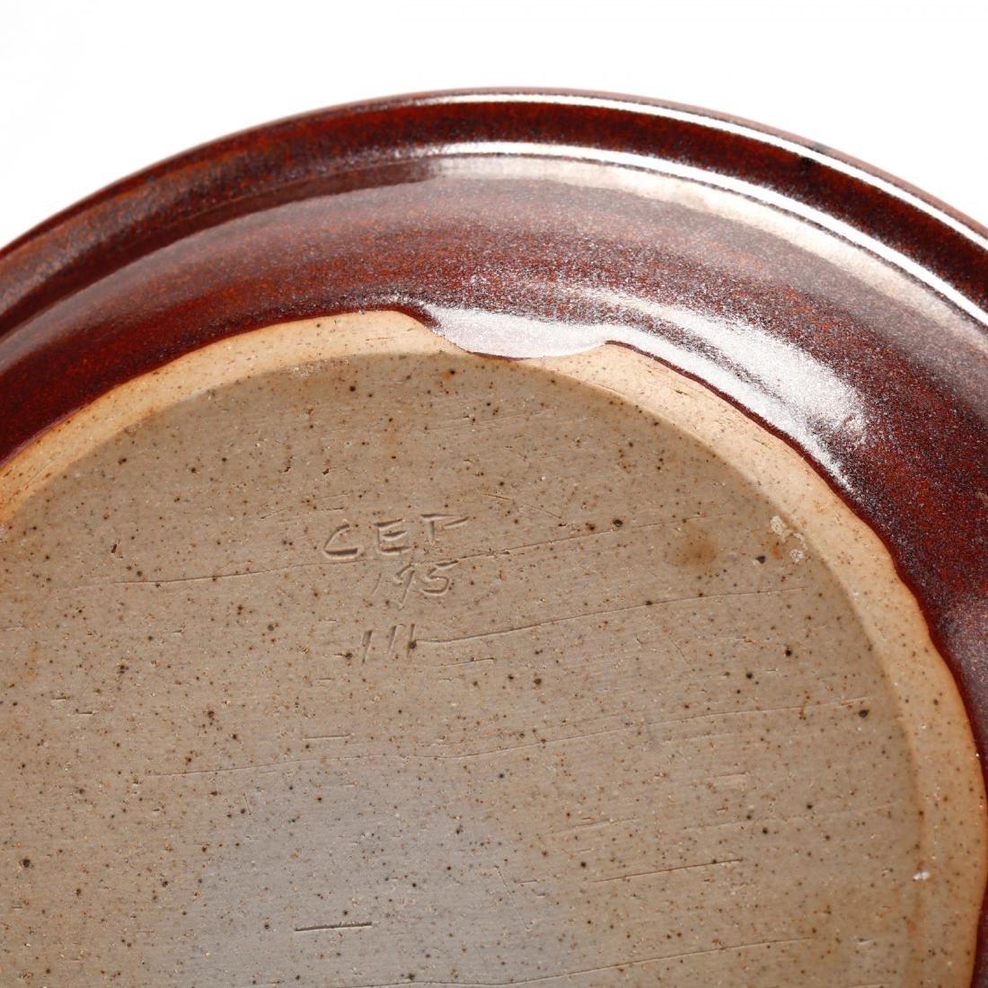 NC Pottery Pie Plate - 2