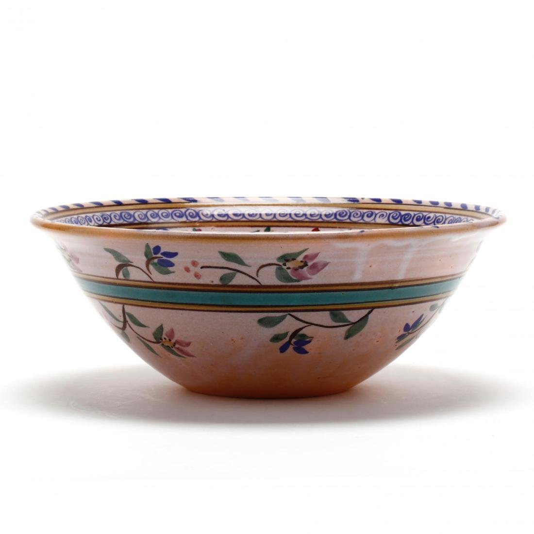 NC Pottery Center Bowl, Dover Pottery