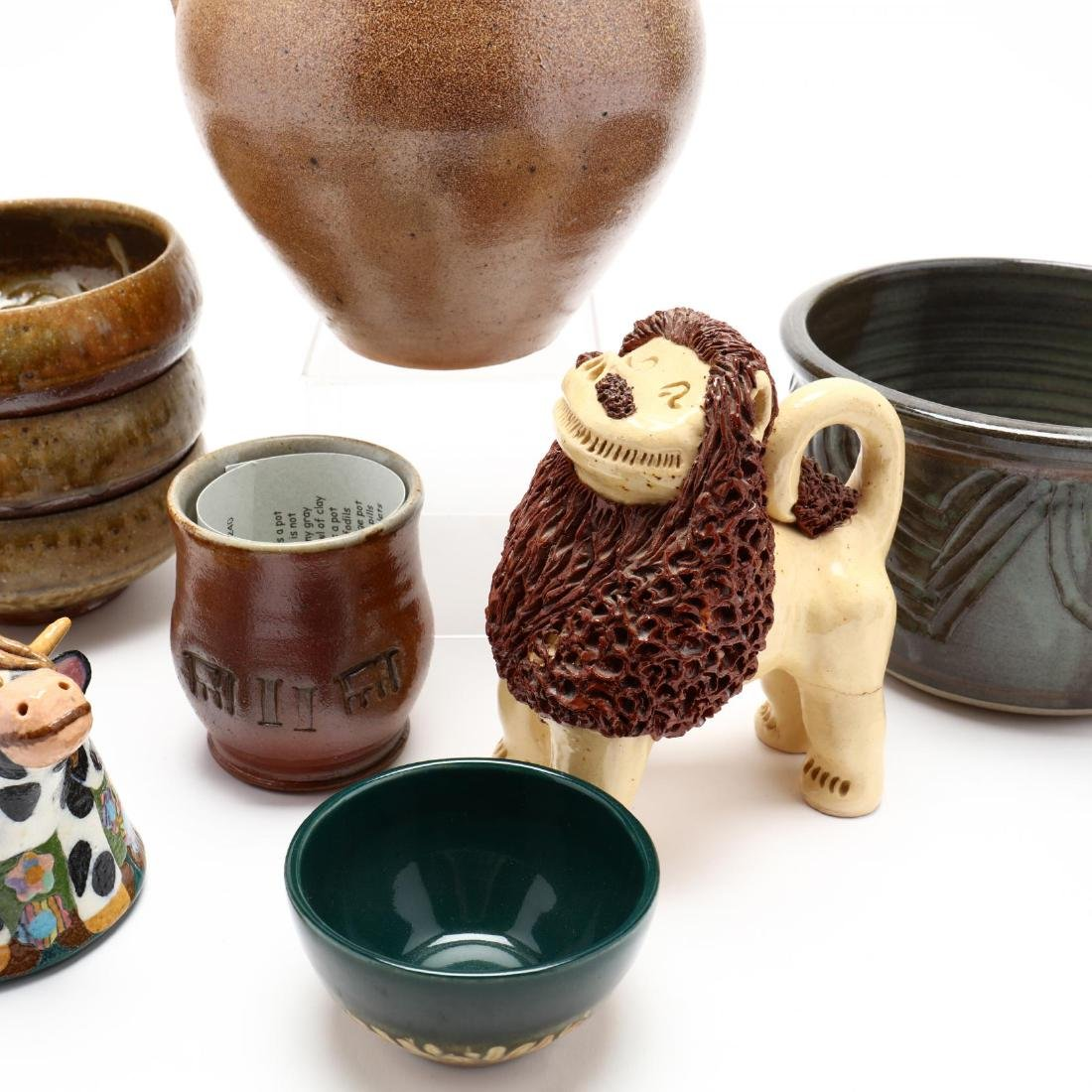 An Assortment of Contemporary Southern Pottery - 3
