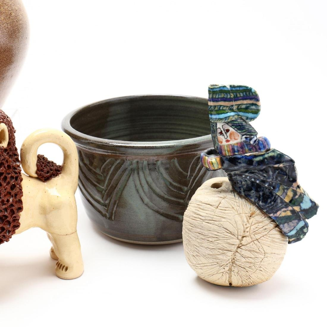 An Assortment of Contemporary Southern Pottery - 4