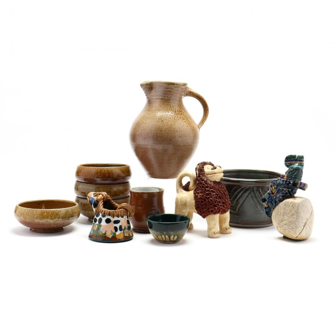 An Assortment of Contemporary Southern Pottery - 5