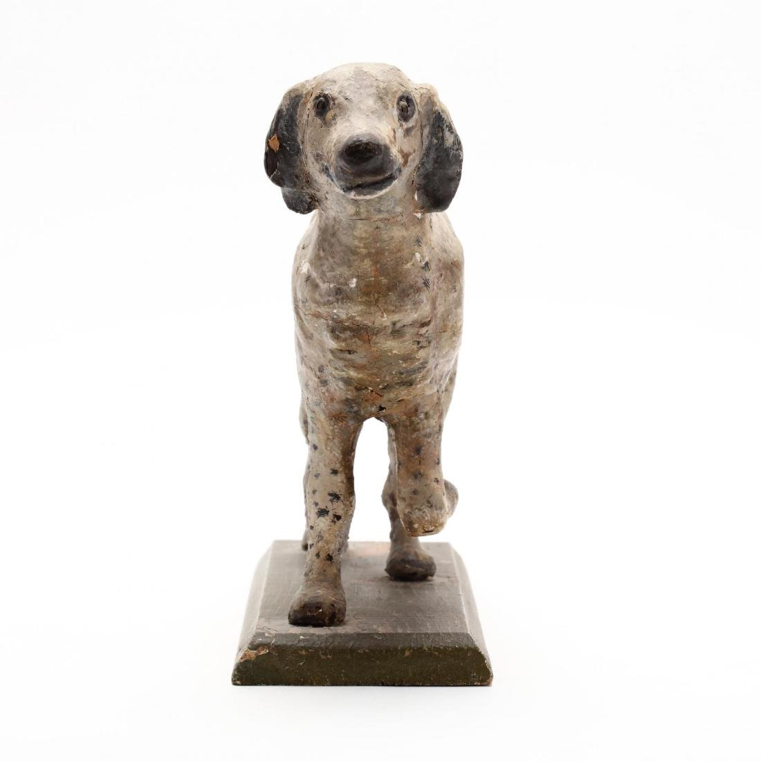 Folky Carving of a Setter - 3