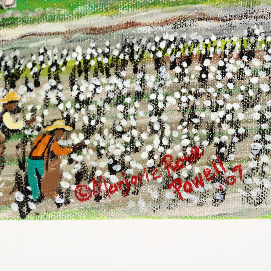 Marjorie Rose Powell (NC, 1951-2018), Cotton Picking - 2