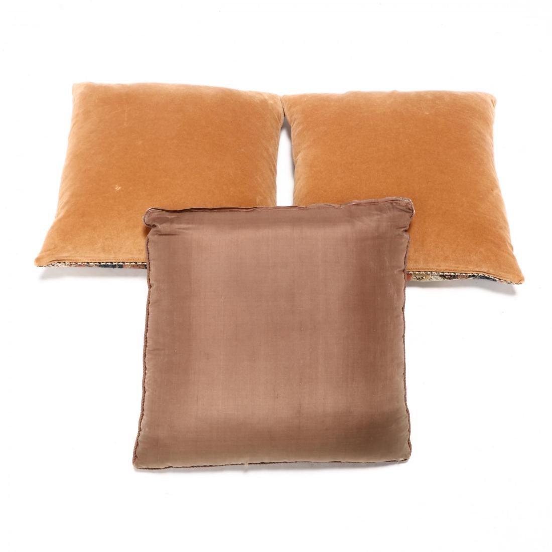 Three Elizabethan Style Pillows - 2