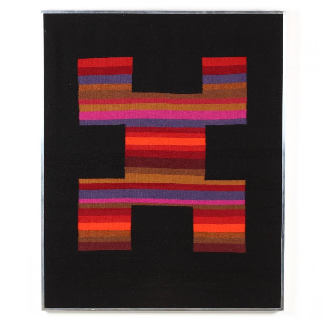 Framed Southwestern Textile